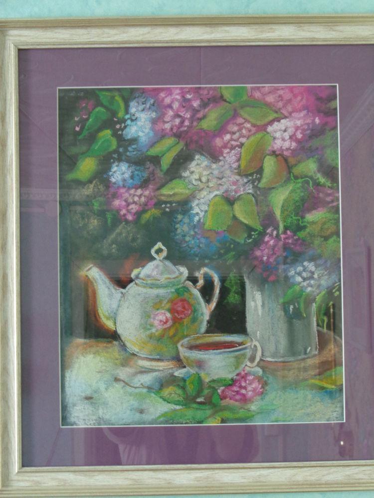 живопись, акварель, пастель, интерьер, украшение интерьера, пейзаж