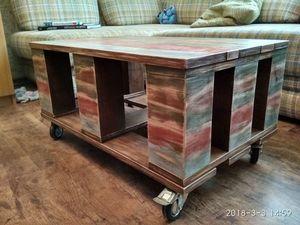 Журнальный стол из массива дуба.. Ярмарка Мастеров - ручная работа, handmade.