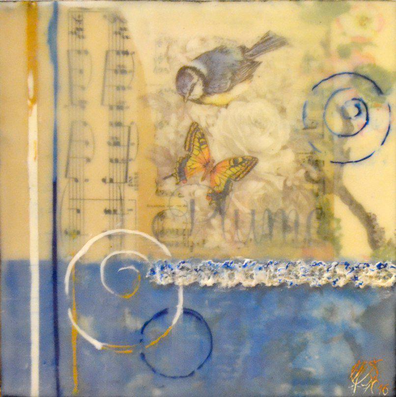 крылья искусства, mixed media