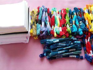 Канва, её разновидности и размеры. Тестирование образцов. Ярмарка Мастеров - ручная работа, handmade.