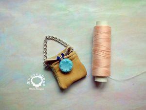 Изготавливаем сумочку для куклы своими руками. Ярмарка Мастеров - ручная работа, handmade.