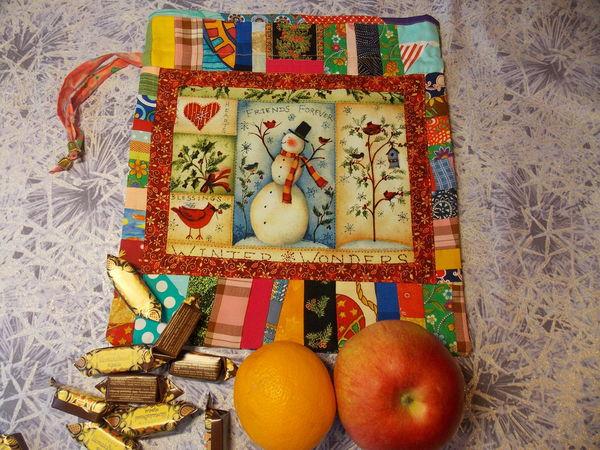 Про новые новогодние мешки и конфету на палочке.   Ярмарка Мастеров - ручная работа, handmade