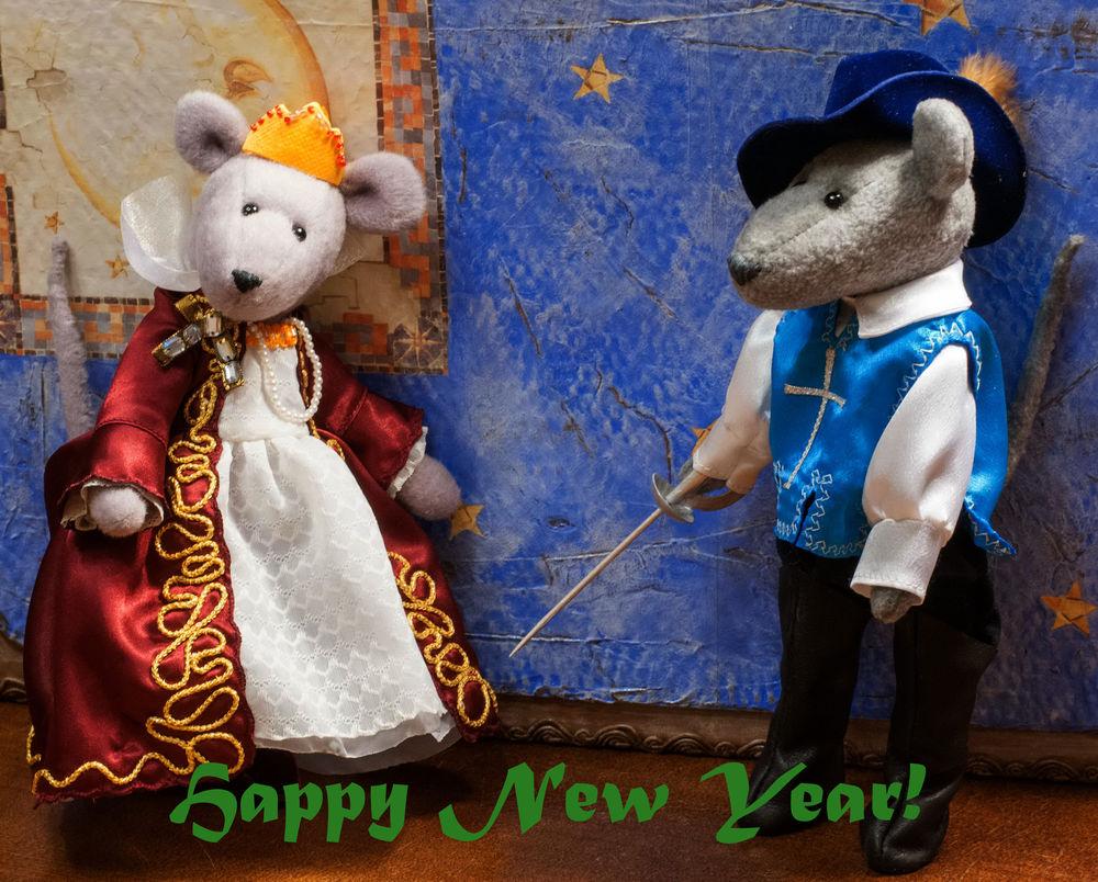 новый год, мышки, выставка-продажа, мушкетер, мышки-игрушки