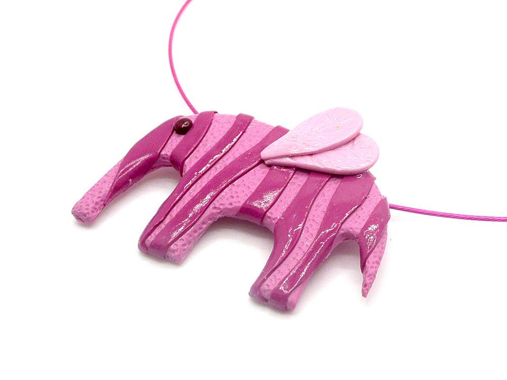 слон, новинка магазина, розовый слон, брошь, подвеска