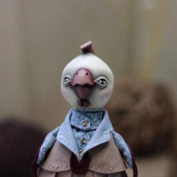 кукла ручной работы, кукла из паперклея, мастерская волошиной