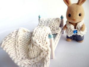 Крупное вязание в миниатюре | Ярмарка Мастеров - ручная работа, handmade