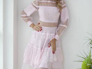Аукцион на Нежнейшее платье для настоящей принцессы! Старт 3000 руб.!. Ярмарка Мастеров - ручная работа, handmade.
