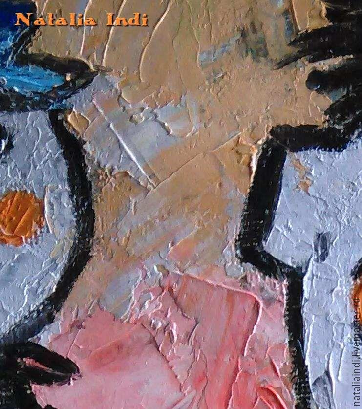 primitive art painting