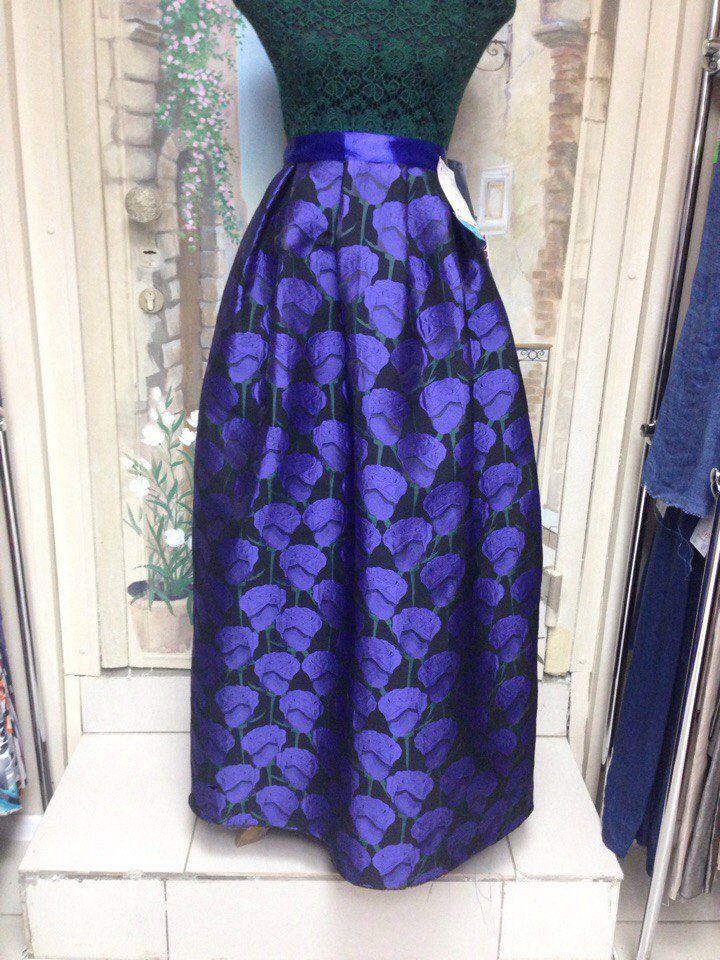 юбка в пол, юбка из жаккарда, юбка-карандаш, юбка макси