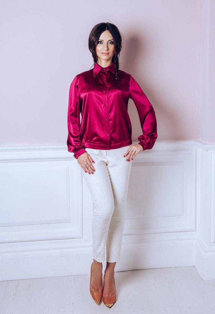 скидка, бордовая блузка