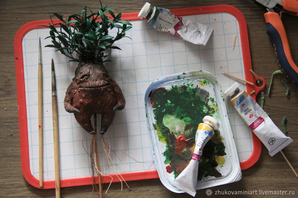 Mandrake. How to Make a Magical Creature, фото № 10