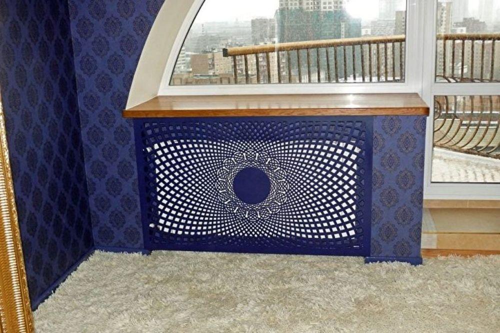 45 идей для декорирования батарей отопления, или Как «замаскировать» радиаторы отопления дома, чтобы не мозолили глаза, фото № 34