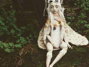 Моль. Создание куклы по технике тедди-долл. Ярмарка Мастеров - ручная работа, handmade.