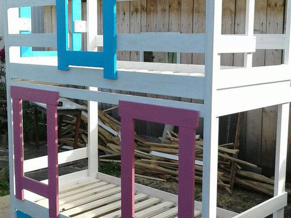 Кровать домик-для детей | Ярмарка Мастеров - ручная работа, handmade