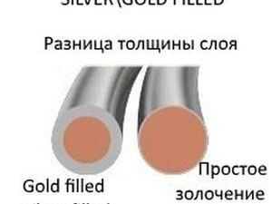 Отличие бижутерии GoldFilled и SilverFilled от обычной. Ярмарка Мастеров - ручная работа, handmade.