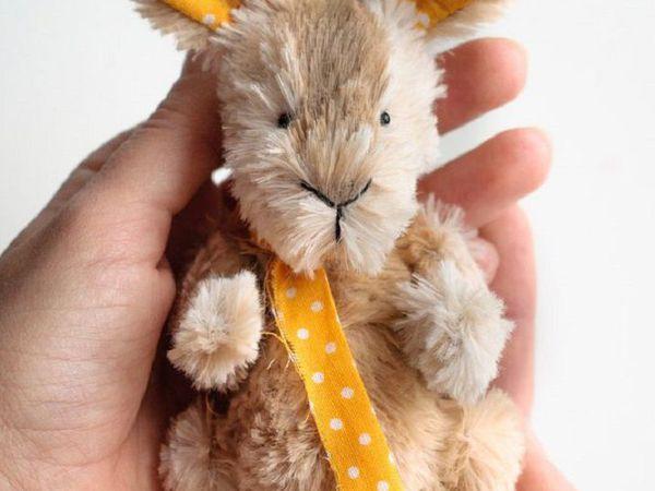 Розыгрыш тедди Кролика | Ярмарка Мастеров - ручная работа, handmade