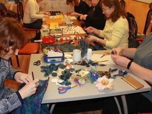 Фотоотчет о мастер-классе 18.11. Много фото.. Ярмарка Мастеров - ручная работа, handmade.