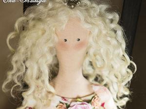 Кукла тильда Принцесса. Ярмарка Мастеров - ручная работа, handmade.