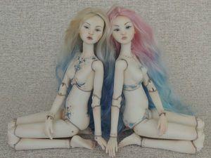 Новые фарфоровые куколки Нарана и Сарана | Ярмарка Мастеров - ручная работа, handmade