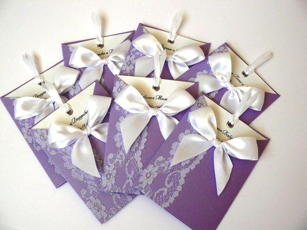 Свадебные приглашения от 70 р до конца сентября !!! | Ярмарка Мастеров - ручная работа, handmade