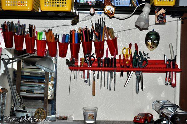 карандаши и инструменты