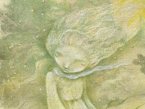 Летнее предложение на диптих о Зеленом Времени!. Ярмарка Мастеров - ручная работа, handmade.