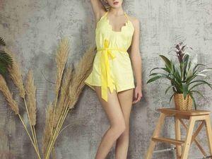 В отпуск самой модной. Желтый цвет лета 2018. Ярмарка Мастеров - ручная работа, handmade.