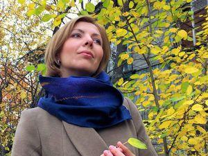 Видео курс по двухстороннему шарфу.   Ярмарка Мастеров - ручная работа, handmade