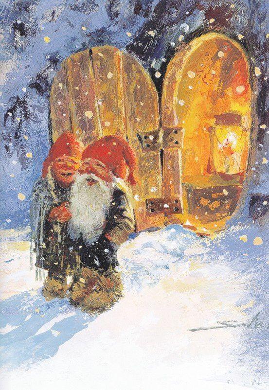 ниссе, рождество в норвегии