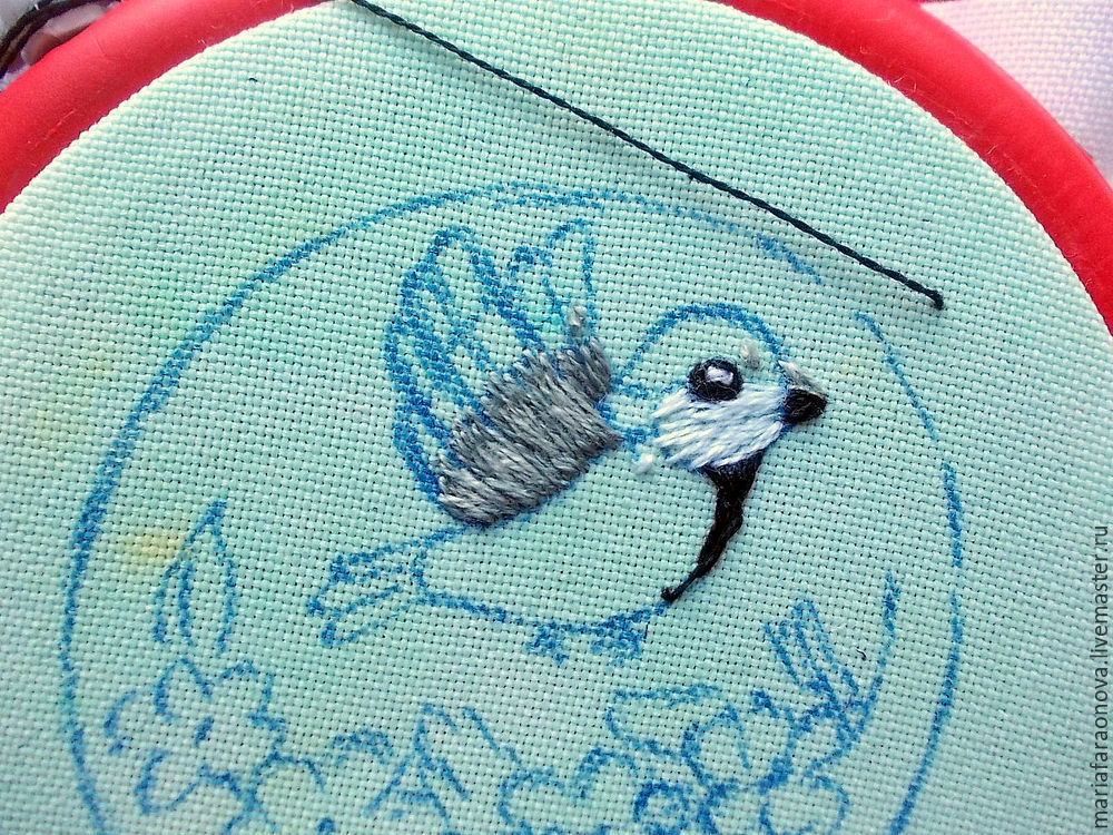 master class on embroidery