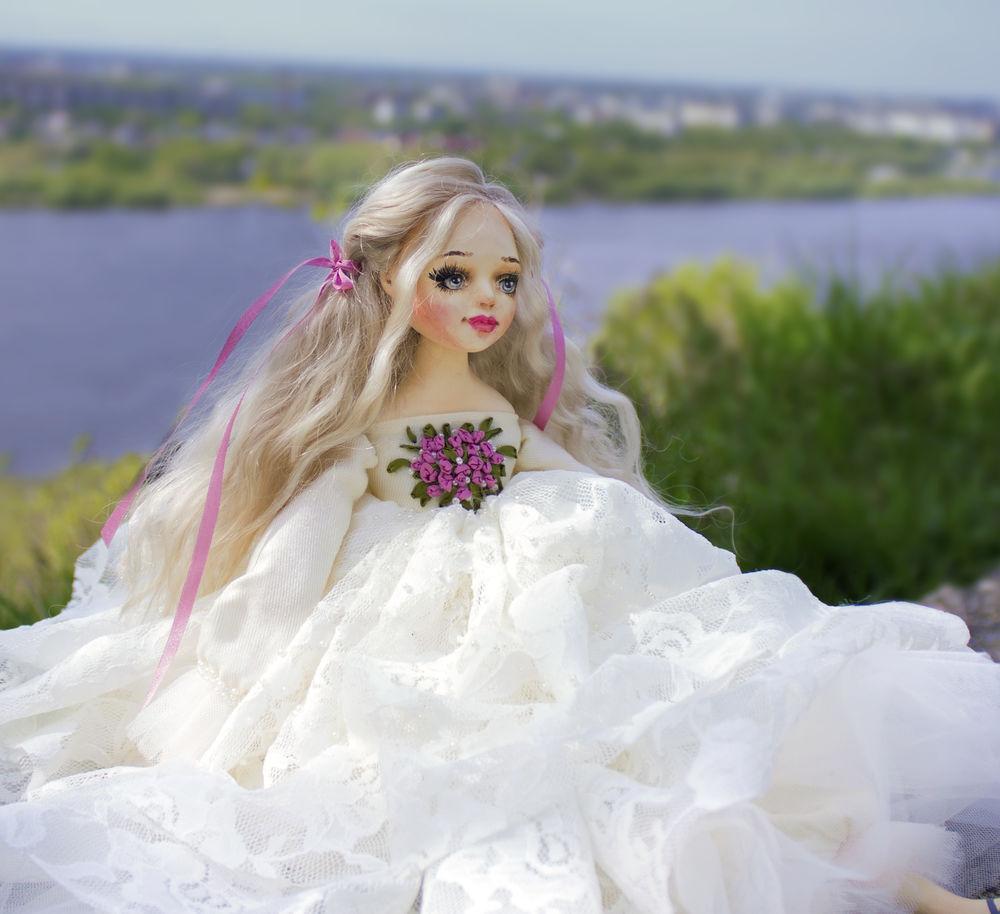 купить подарок дочке, авторская кукла