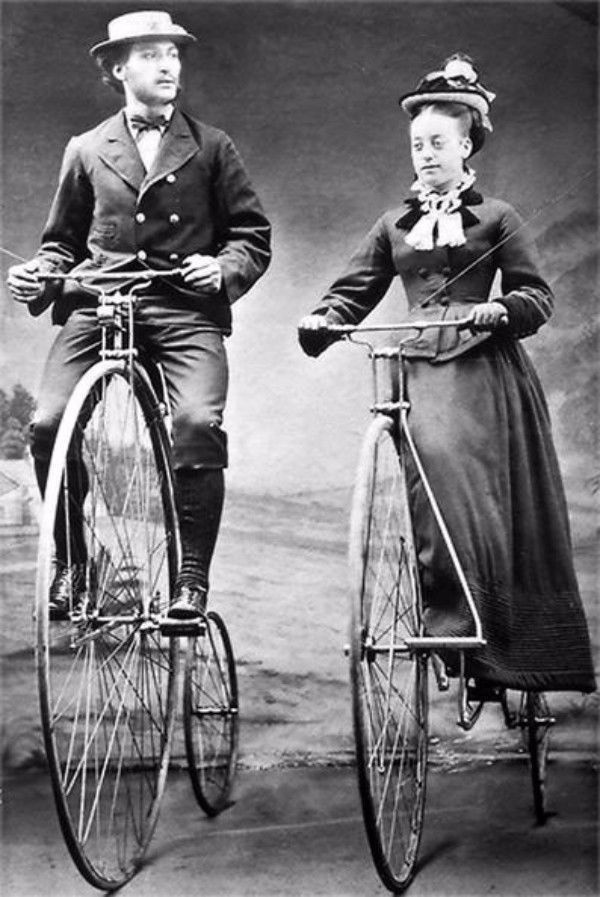 гранд-би, старинный велосипед