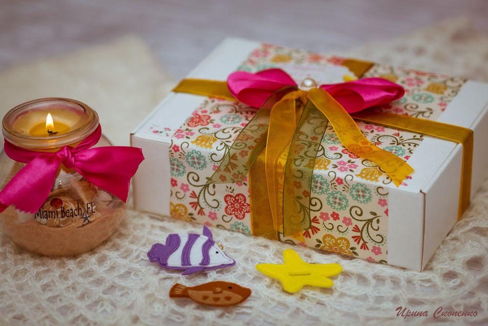 упаковка подарка, подарочная упаковка