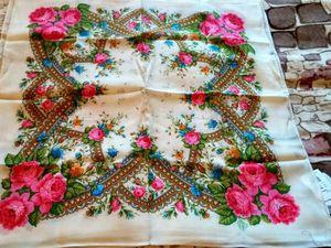 Распродажа шерстяных платков в третьем сорте. Ярмарка Мастеров - ручная работа, handmade.