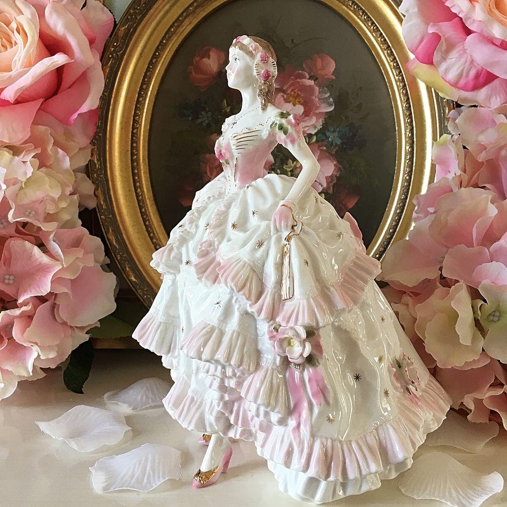фарфор, статуэтка леди