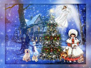 С Рождеством!!!!!   Ярмарка Мастеров - ручная работа, handmade