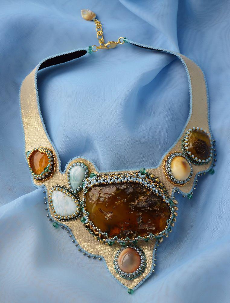 украшения с янтарём