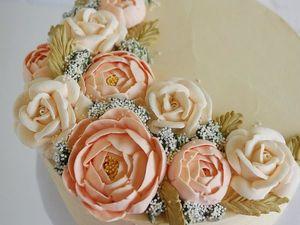 Реалистичные цветочные сладости от Leslie Vigil. Ярмарка Мастеров - ручная работа, handmade.