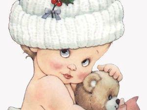 Скидка 50% на детские вязаные шапочки. Ярмарка Мастеров - ручная работа, handmade.