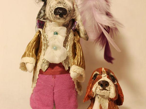 Новогодние Собаки | Ярмарка Мастеров - ручная работа, handmade