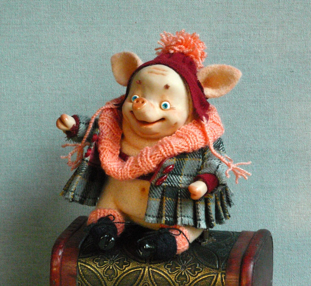 символ 2019, символ года, свинья, свинка, год свиньи, символ года свиньи, подарок к новому году, новогодний подарок 2019, символ 2019 года, интерьерная игрушка, интерьерная кукла символ года, шерстяная игрушка, шерстяная свинка