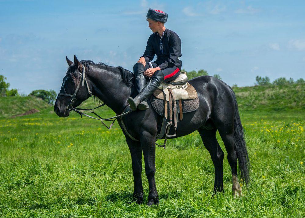 Традиционные казачьи игры