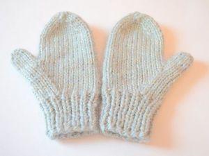 Учимся вязать варежки: от снятия мерок до готовой рукавички. Видеоурок. Ярмарка Мастеров - ручная работа, handmade.