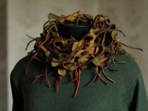 Скидки до 45% на видео по шарфикам. Ярмарка Мастеров - ручная работа, handmade.