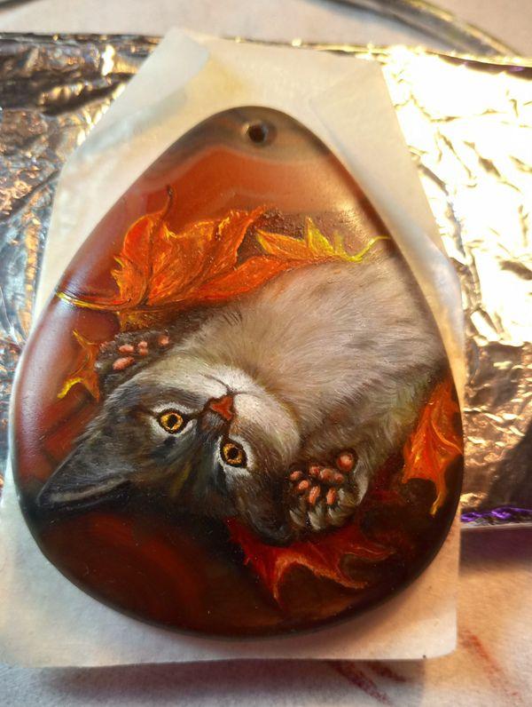 кулон кот