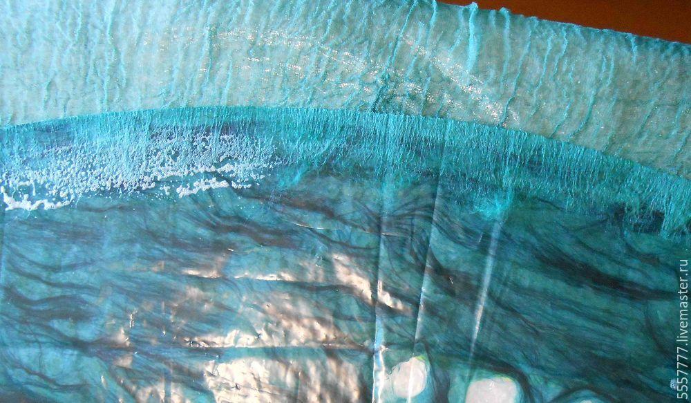 Создаем оригинальную тунику из марли и шерсти, фото № 19