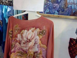 Ликвидация платьев и блуз батик из натурального шелка 1490 руб.!. Ярмарка Мастеров - ручная работа, handmade.