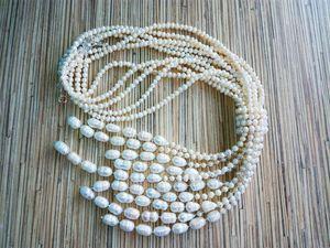 Скидка 25% на жемчужные ожерелья!. Ярмарка Мастеров - ручная работа, handmade.