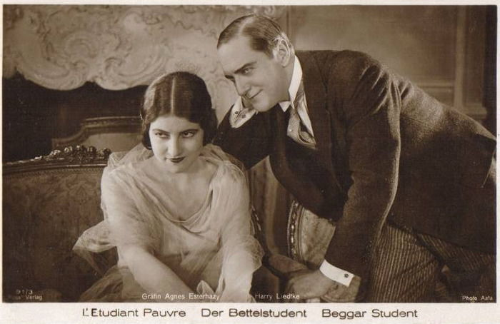 открытка, немецкий актер