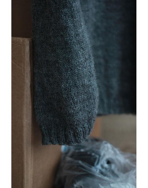 история, пуловер